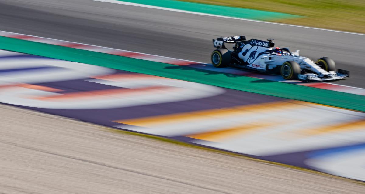 Grand Prix d'Italie de F1 : le second départ en vidéo