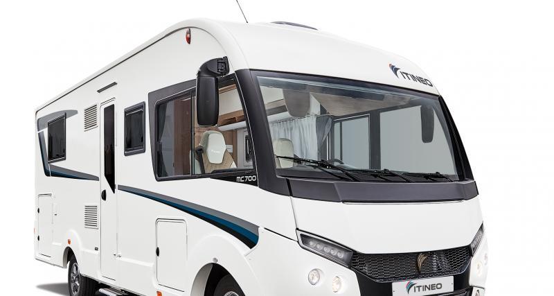 Itineo Cosy MC700 : le camping-car intégral tout confort pour 4