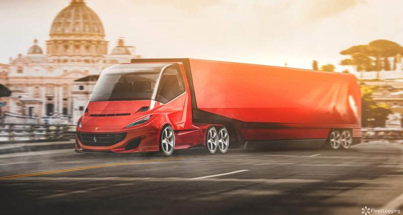 2 - Le semi-remorque Ferrari