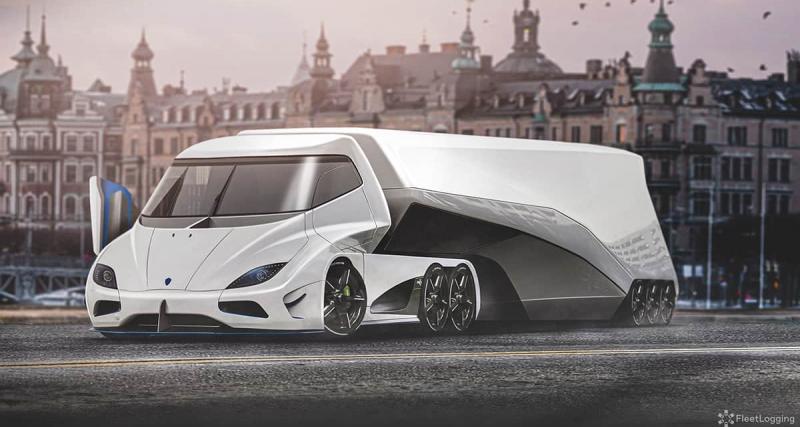 3 - Le semi-remorque Koenigsegg