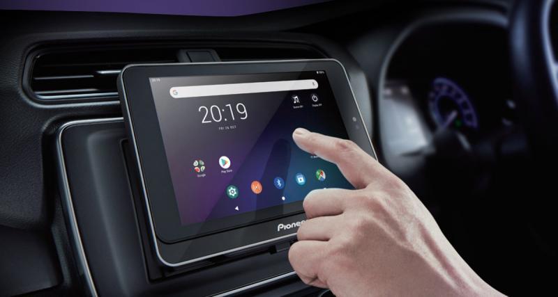Pioneer innove avec un nouveau système multimédia basé sur une tablette Android