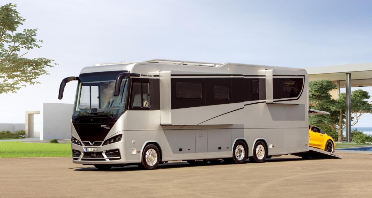 Vario Perfect 1200 Platinum : le camping-car motorhome de 26 tonnes vendu 1,3 million d'euros !