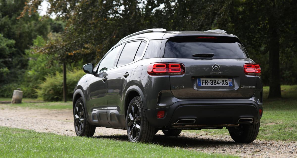 Essai du nouveau Citroën C5 Aircross Hybrid : nos photos du SUV hybride rechargeable