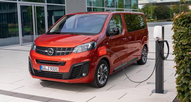 Opel Zafira-e Life : les prix du van électrique