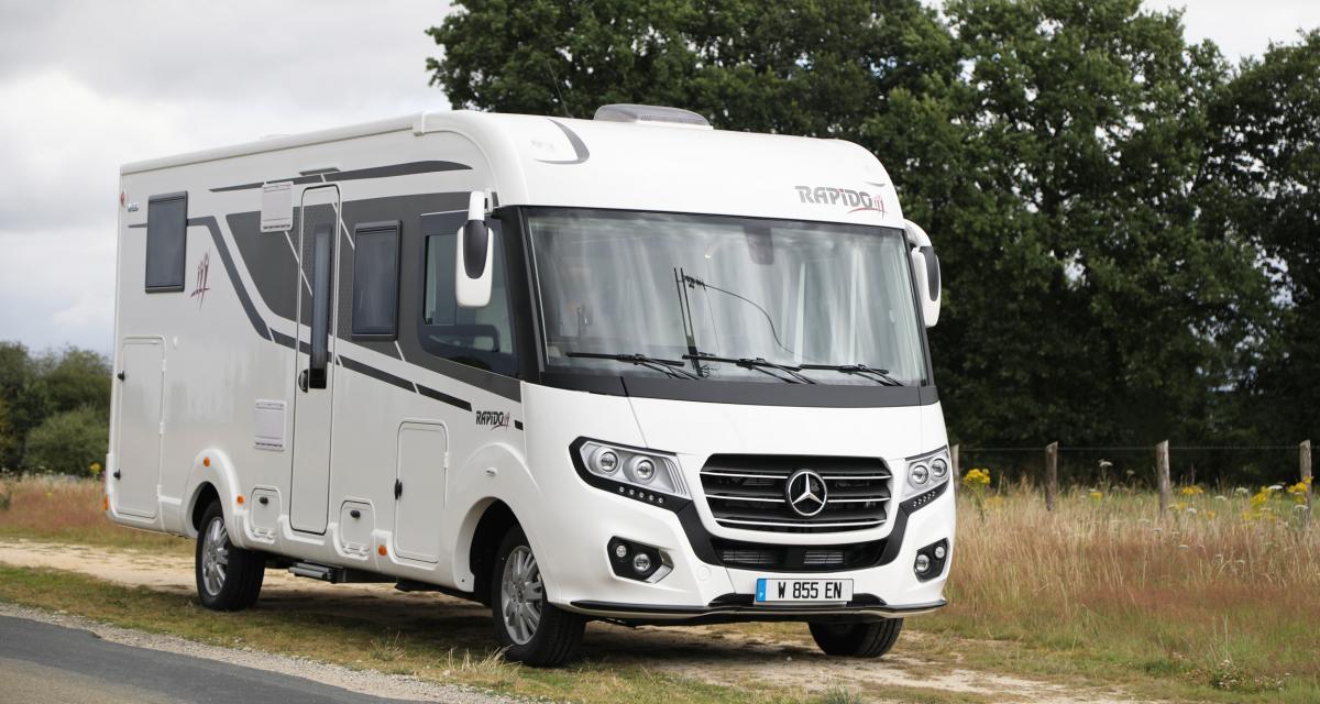 Rapido M66 : le camping-car intégral de 7,54 m sur porteur Mercedes Sprinter