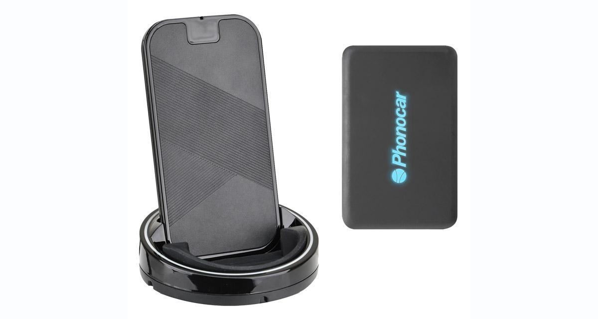 Phonocar commercialise un chargeur à induction pour Smartphone
