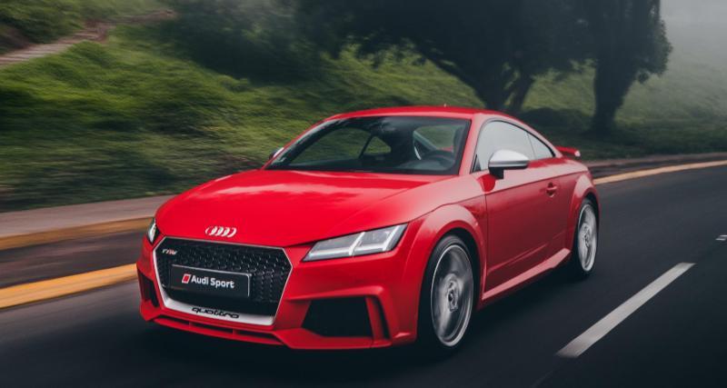 Arrêté au volant de son Audi RS7 à 300 km/h !