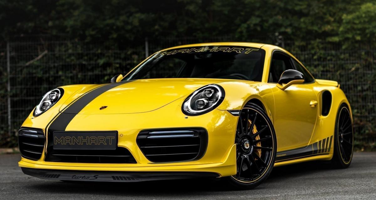 Porsche 911 Turbo S Manhart de 850 chevaux : accélère, accélère !