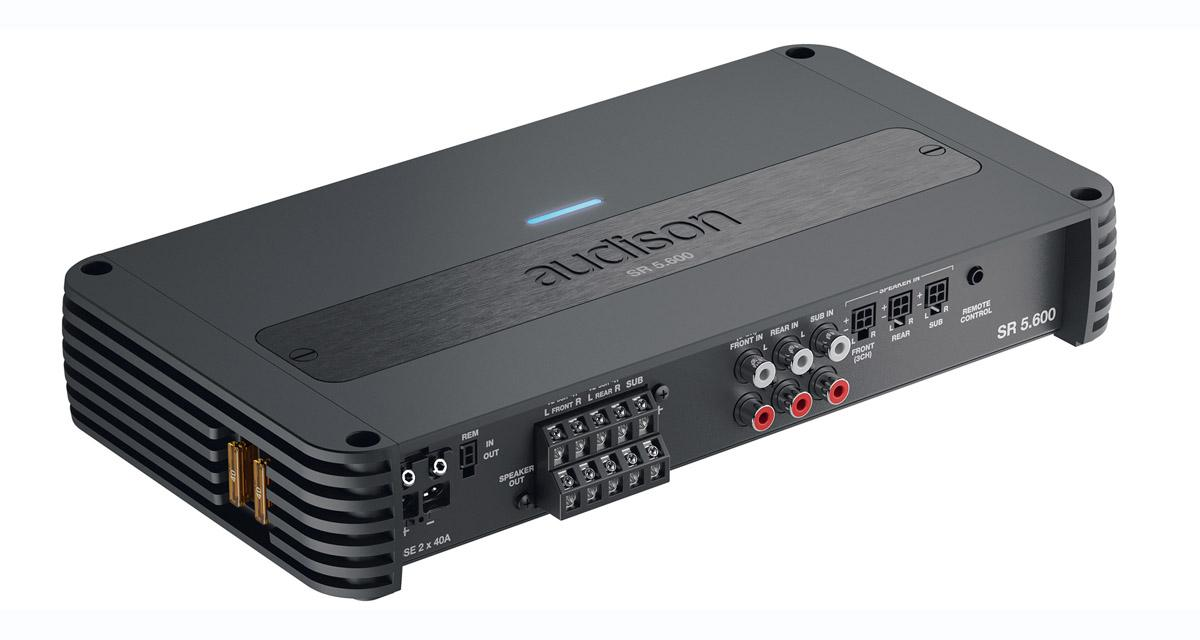 Un ampli 5 canaux compact et puissant chez Audison