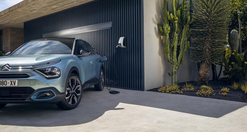 Nouvelle Citroën e-C4 : les prix de la compacte 100% électrique