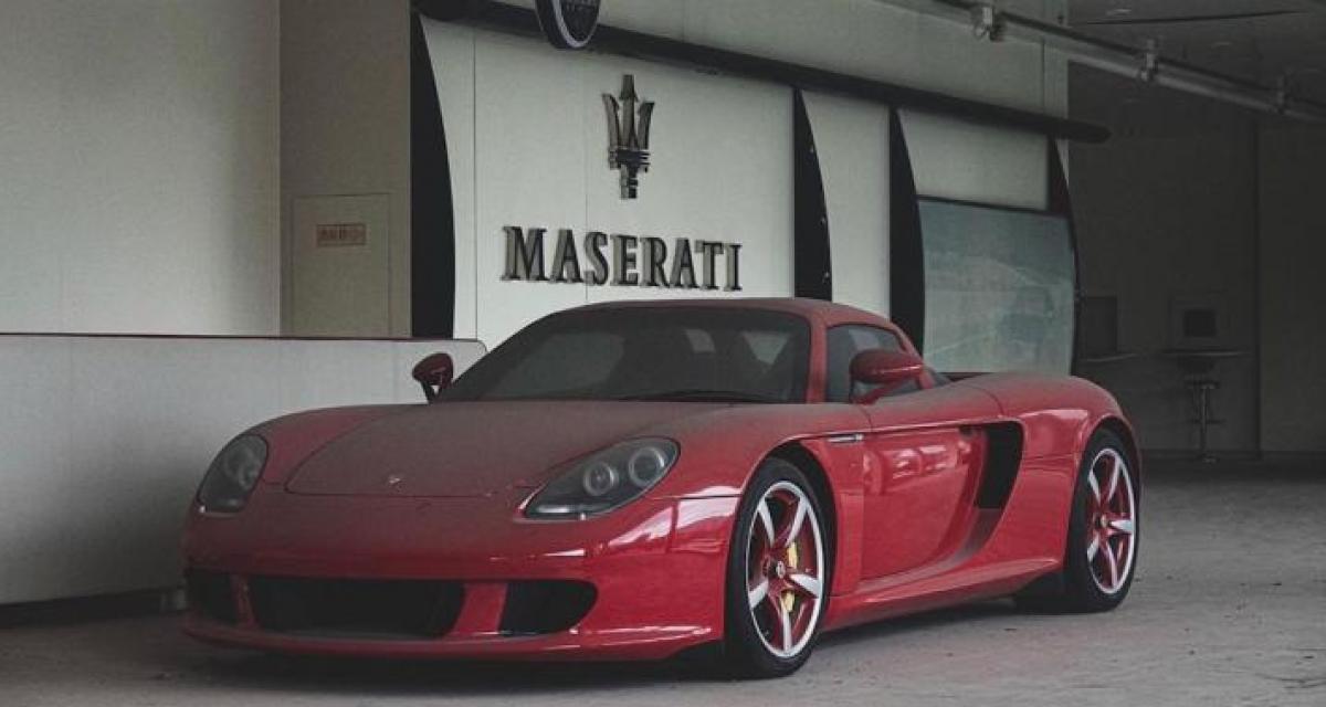 Un photographe amateur tombe par hasard sur une Porsche Carrera GT abandonnée depuis 2012