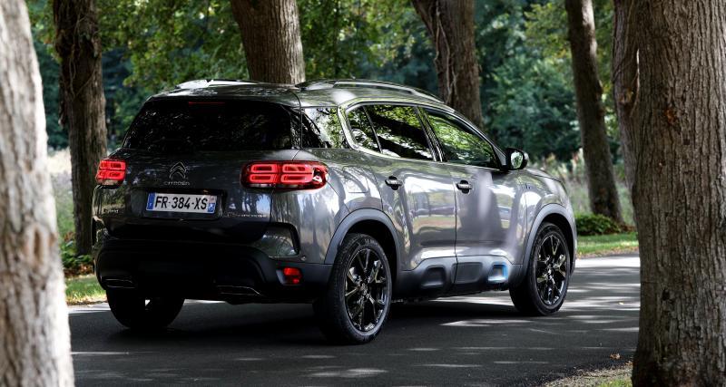 C5 Aircross Hybrid : premier modèle hybride chez Citroën