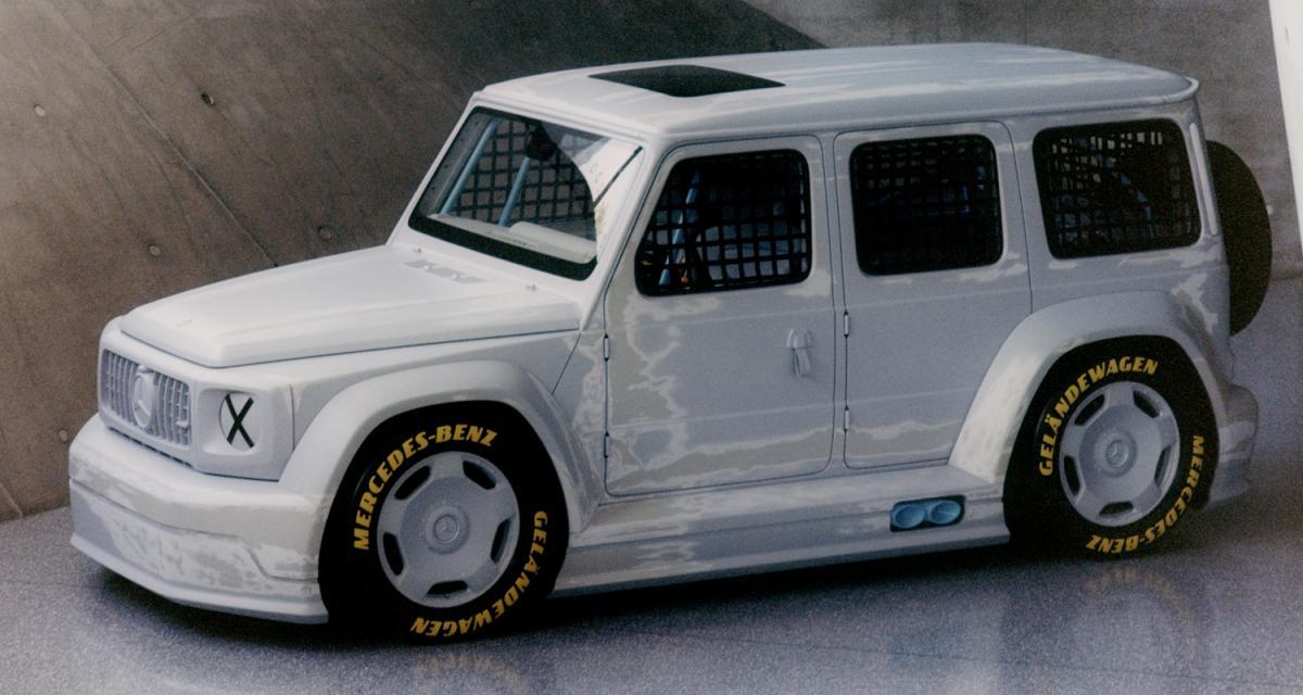 Project Geländewagen by Mercedes-Benz : le Classe G détourné en voiture de course