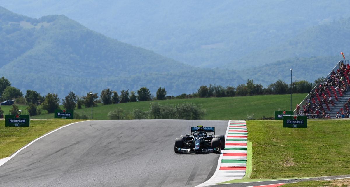Grand Prix de Toscane de F1 : la grille de départ - 95e pole position pour Hamilton