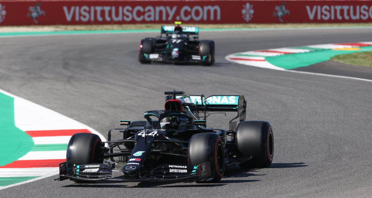 Grand Prix de Toscane de F1 : le second départ en vidéo