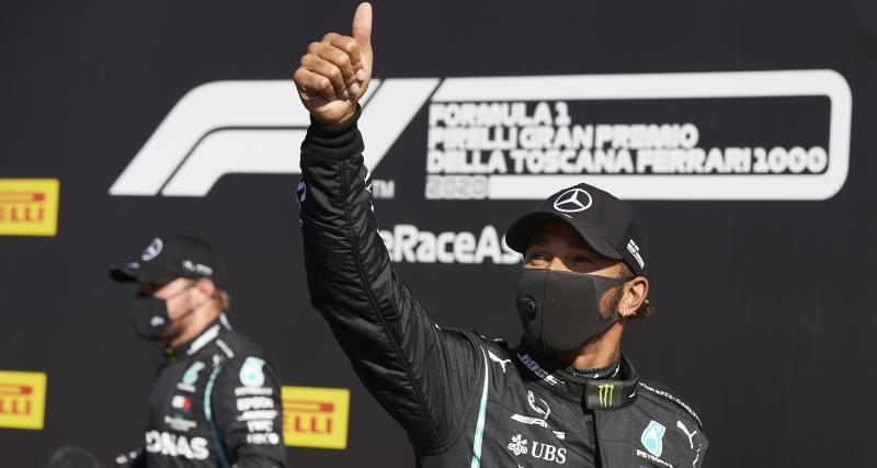 Grand Prix de Toscane de F1 : le classement final - Hamilton à une victoire de Schumacher