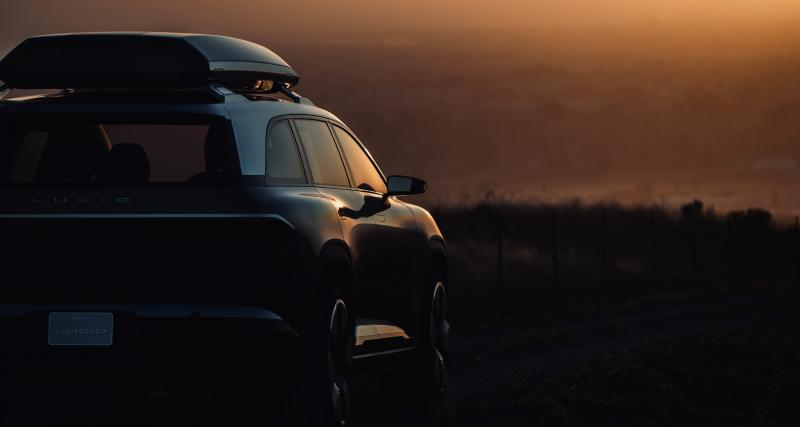 Lucid Motors : après la Air, un SUV 100% électrique en préparation