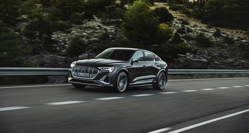 Audi e-tron S (2020) : le SUV 100% électrique aux anneaux s'énerve
