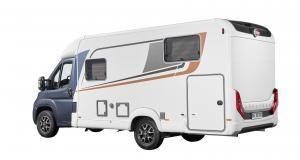 Camping-car Bürstner Travel Van : le profilé compact cool et avec beaucoup d'espace