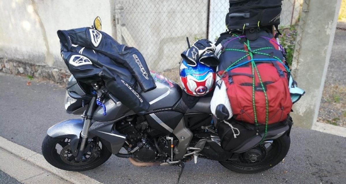 Flashé à 187km/h sur une départementale du Puy-de-Dôme, le motard termine à pied