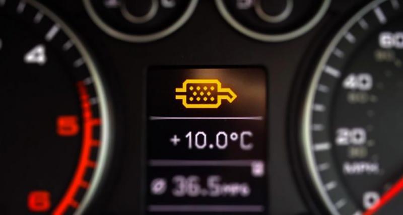 Entretien de ma voiture : 3 signes que votre filtre à particules est bouché