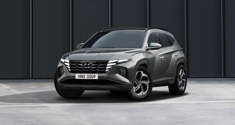 Hyundai Tucson (2022) : un look d'enfer pour le nouveau SUV coréen