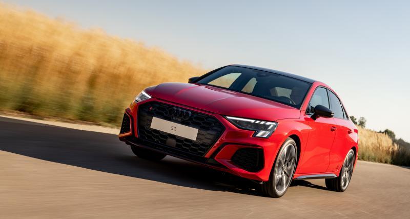 À fond de compteur : en Audi S3 à 250 km/h sur autoroute allemande (vidéo)