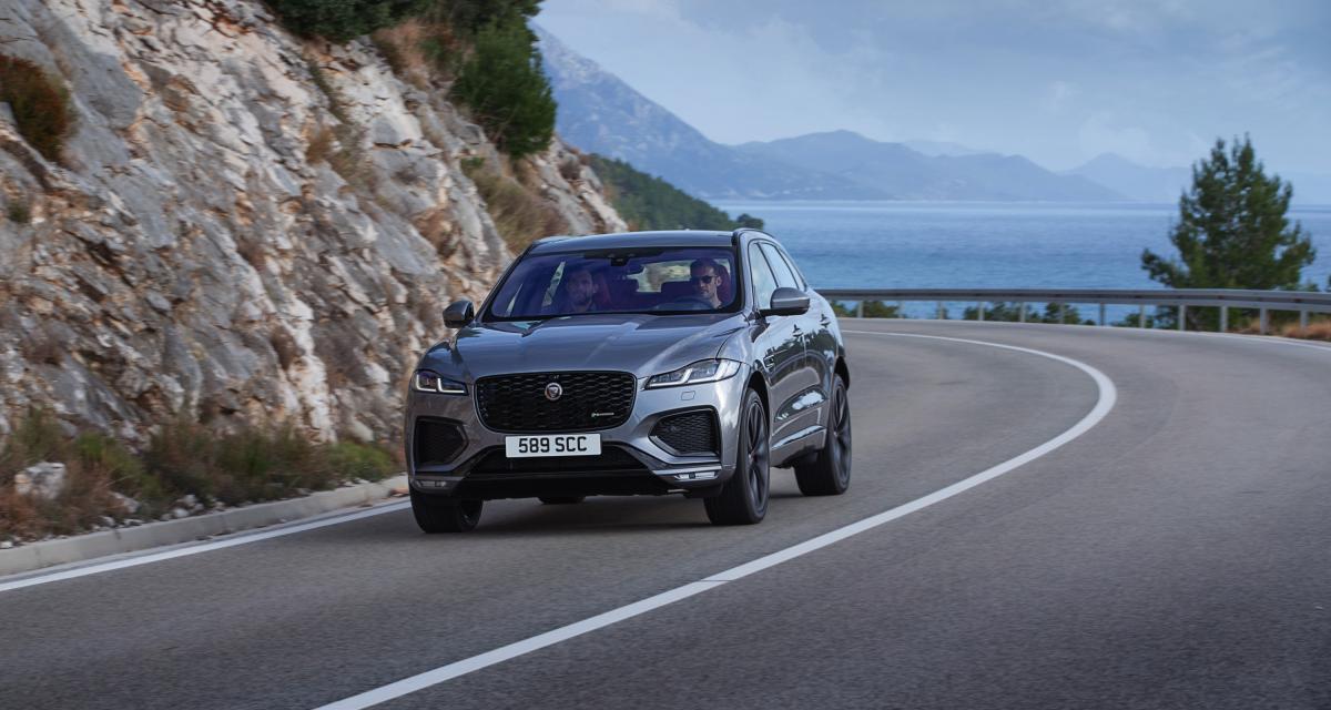 Jaguar F-Pace (2021) : habitacle high-tech pour un restylage significatif