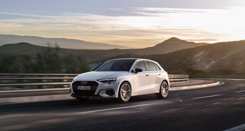 Audi A3 Sportback g-tron : la compacte se convertit au gaz naturel