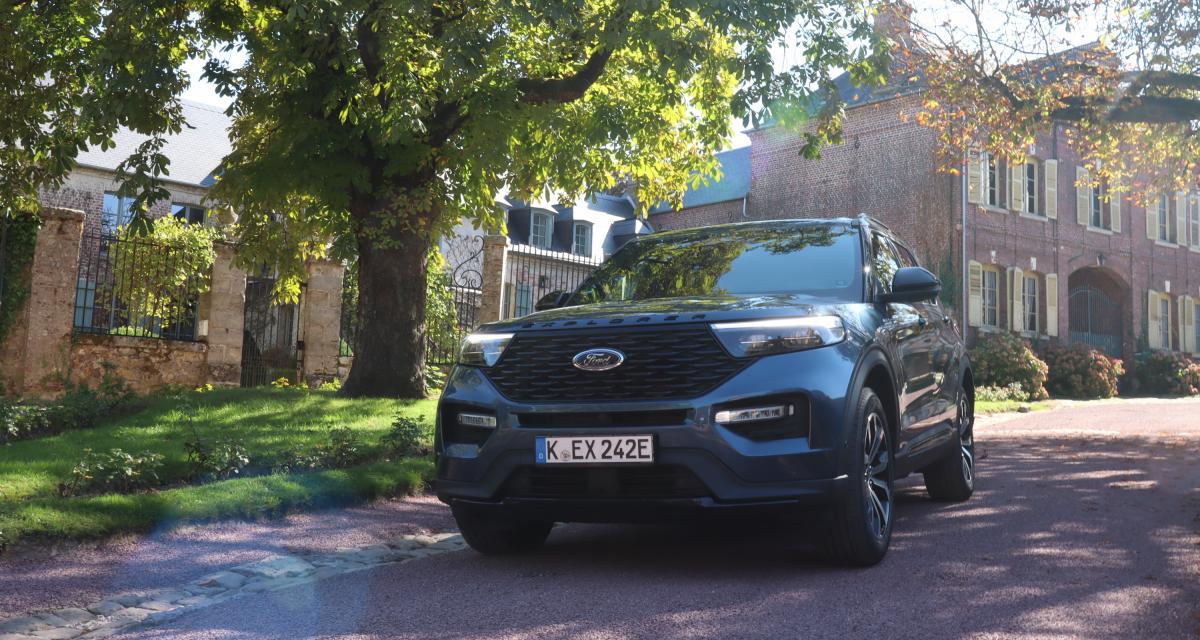 Essai Ford Explorer : nos photos du grand SUV hybride rechargeable