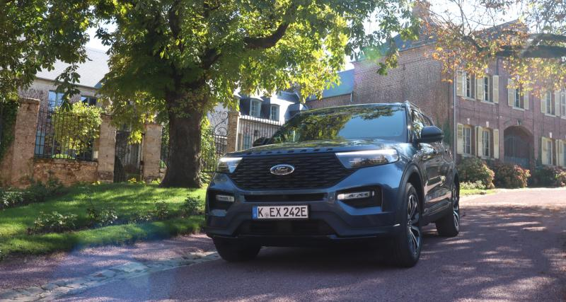 Essai Ford Explorer : nos photos du grand SUV hybride rechargeable