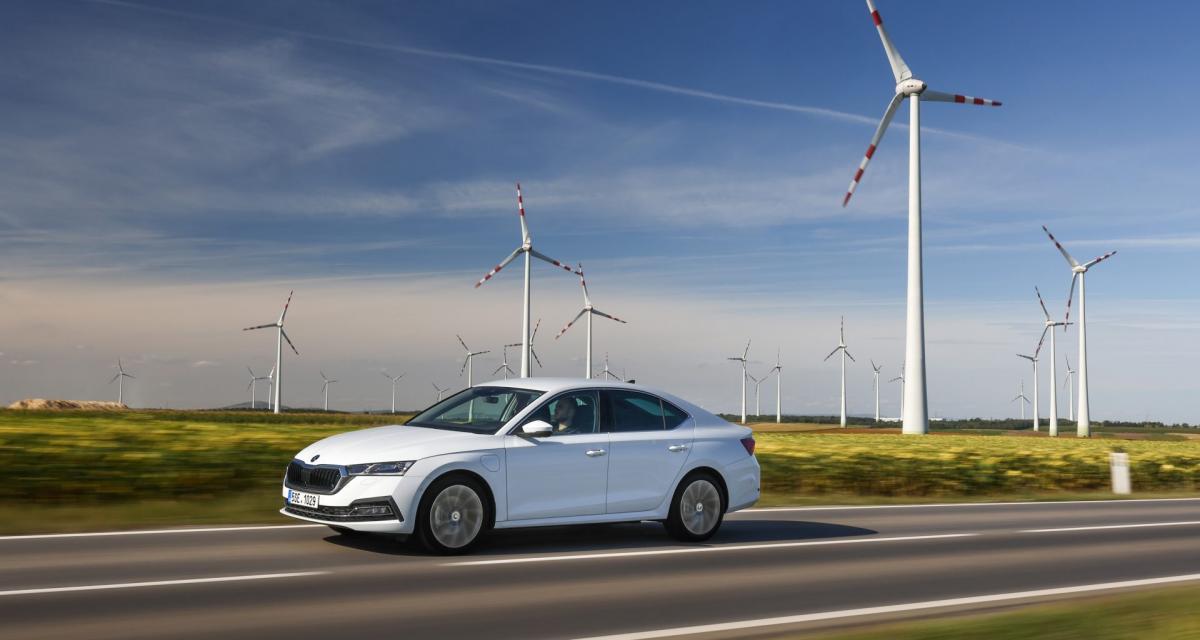 Nouvelle Skoda Octavia IV (2020) : les prix de la berline hybride rechargeable