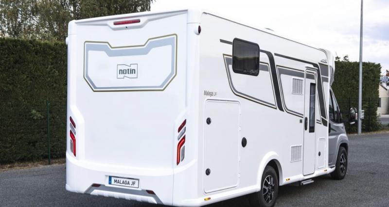 Notin Progress Malaga JF : le camping-car profilé à lits jumeaux