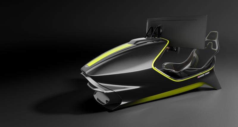 Aston Martin AMR-C01 : le simulateur de conduite plus cher qu'une V8 Vantage d'occasion