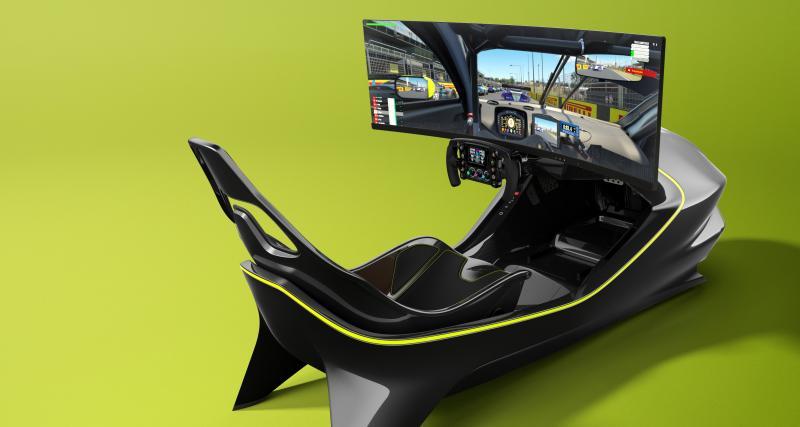 Aston Martin dévoile son premier simulateur: l'AMR-C01