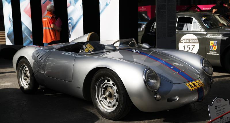 Porsche 550 A Spyder : nos photos du roadster magique au Grand Palais
