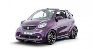 Brabus Ultimate E Facelift : une Smart EQ Fortwo bling-bling pour le prix de deux
