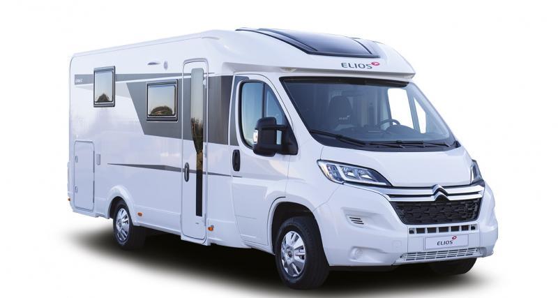 Elios Carvan SC : le profilé à lit central sur base de Citroën Jumper