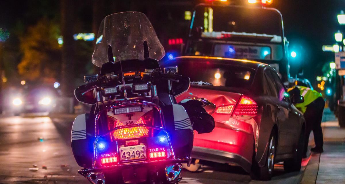 Il veut fuir la police américaine et oublie un ticket gagnant dans sa voiture