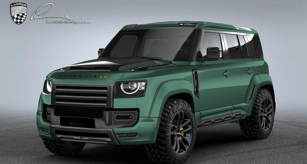 Land Rover Defender by Lumma Design : hérésie ou génie absolu ?