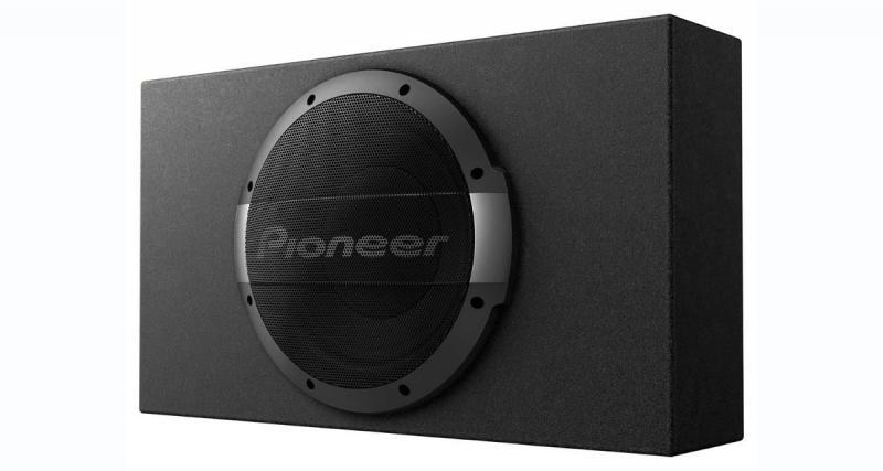 Pioneer commercialise un vrai caisson de grave actif compact