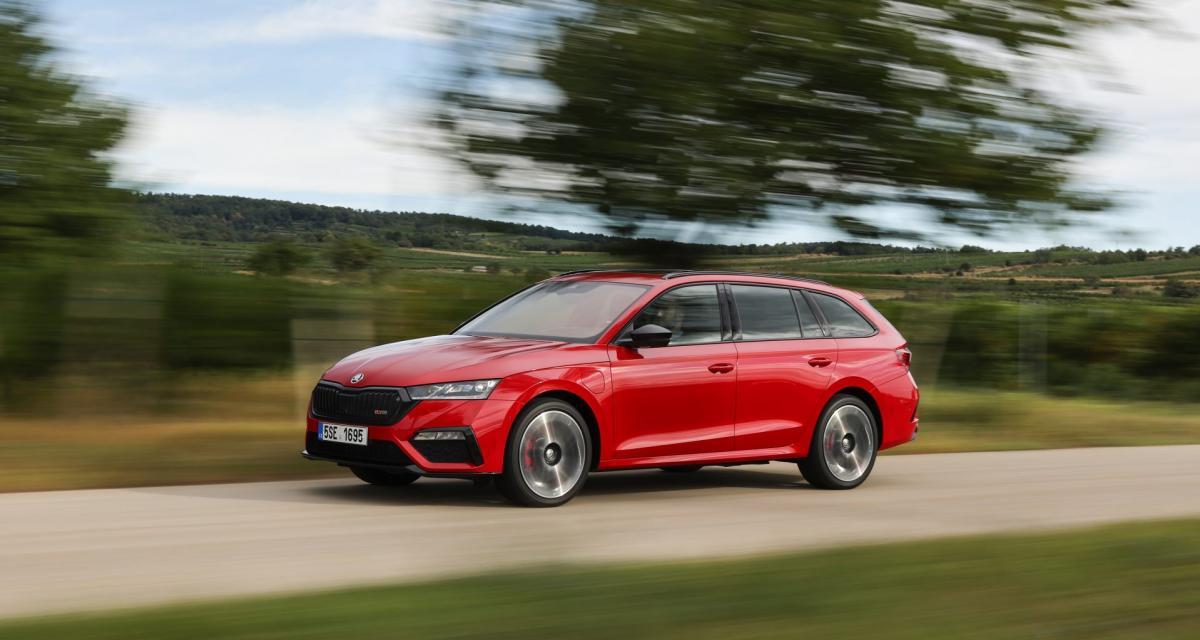Nouvelle Skoda Octavia Combi iV : les prix du break hybride rechargeable
