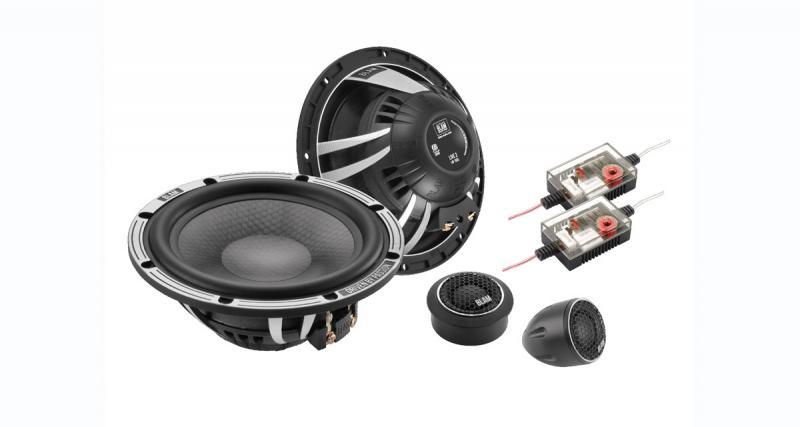 Un kit 2 voies slim chez Blam Audio