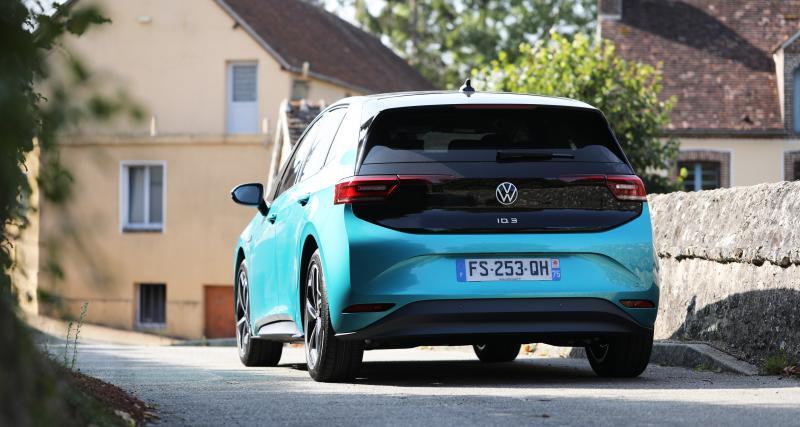 Essai de la Volkswagen ID.3 : nos photos de la compacte électrique