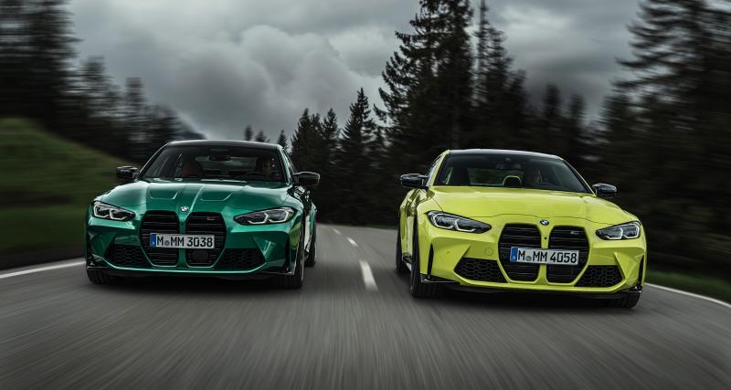 BMW M3 et M4 Competition (2021) : il va y avoir du sport !