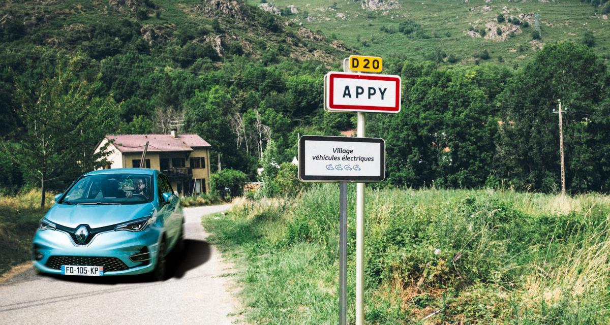 """""""Happy"""" sont les habitants d'Appy, première ville 100% véhicules électriques !"""