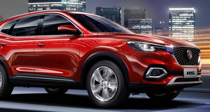 MG poursuit sa route avec le HS, un inédit SUV hybride rechargeable