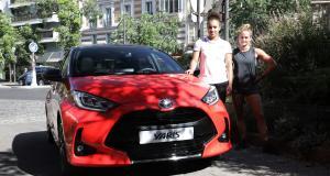 Nouvelle Toyota Yaris : corps à corps, rencontre avec la lutteuse Koumba Larroque