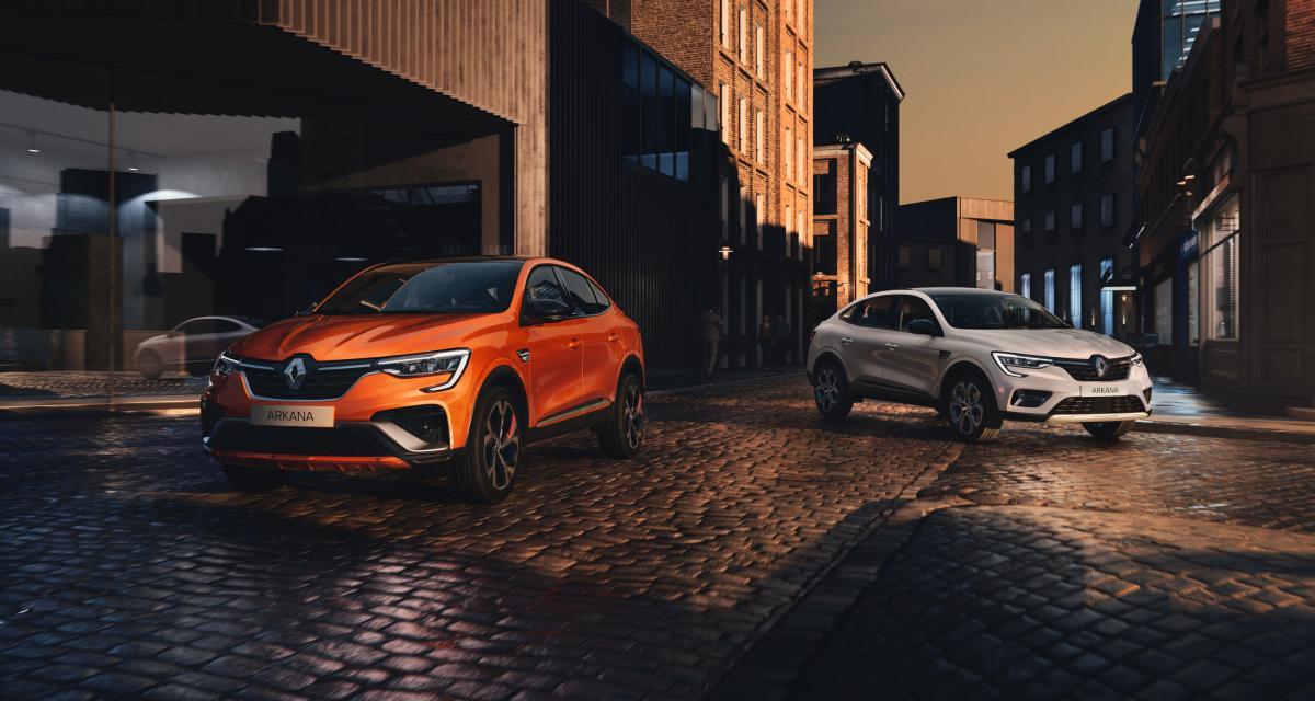 Renault Arkana (2021) : cédez à la tentation du SUV coupé !
