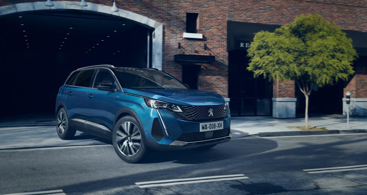 Nouveau Peugeot 5008 restylé (2021) : les prix du grand SUV